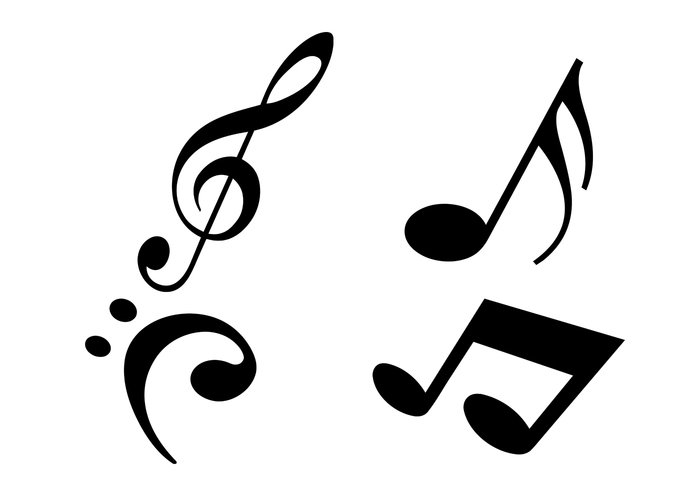 700x490 Free Modern Music Notes Brushes