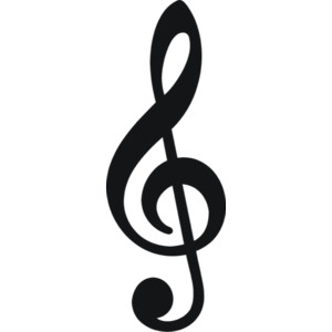 300x300 Music Notes Clipart Black And White Free 2
