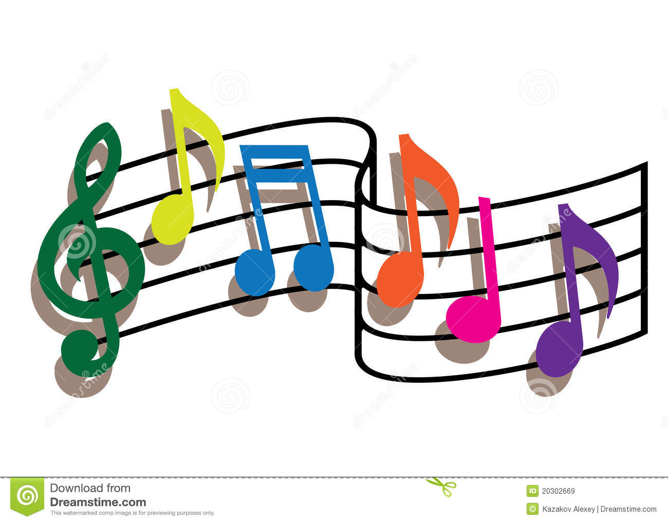 1300x1019 Picture Colored Music Notes 25 About Remodel Free Coloring Book