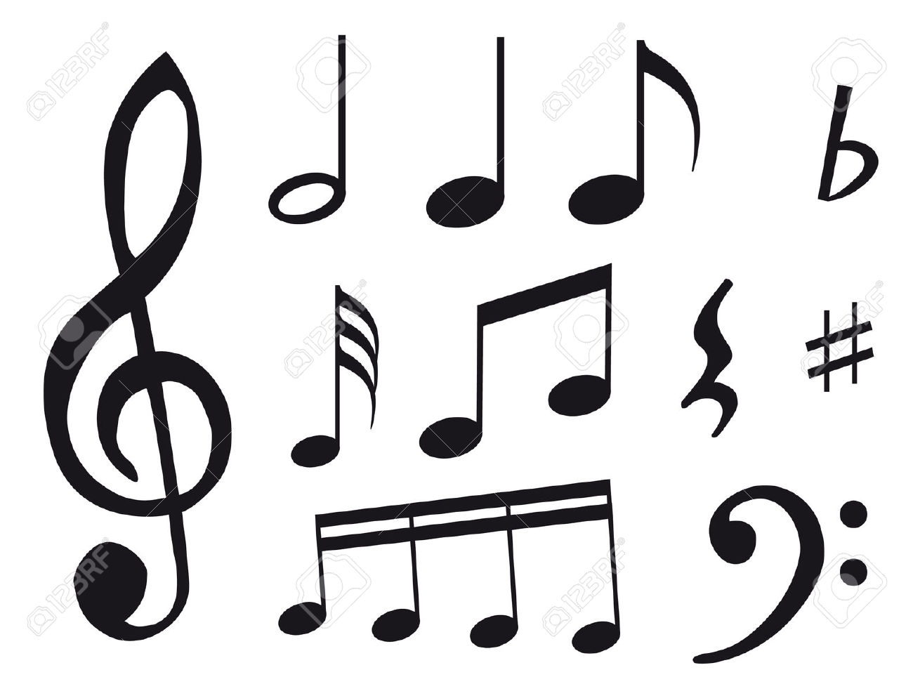 1300x974 Pictures Of Music Notes And Symbols Group
