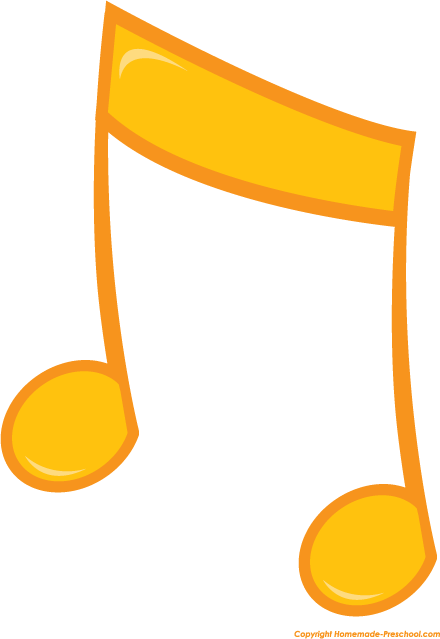 440x639 Free Music Notes Clipart 5