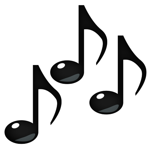 512x512 Multiple Musical Notes Emoji For Facebook, Email Amp Sms Id  937