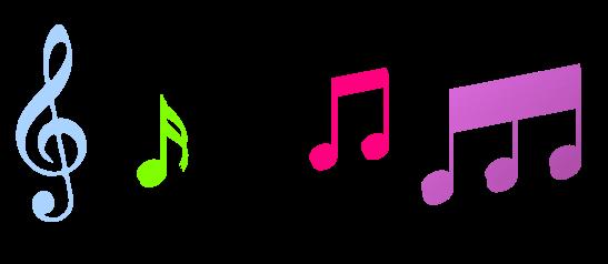 547x238 Musical Notes Clip Art Is Clipart Panda