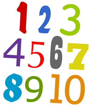 300x352 How To Teach Kids Numbers 1 To 10 Englishclub