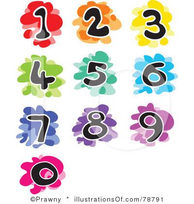 400x420 Number Clip Art