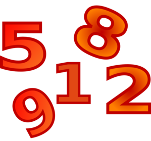 299x279 Numbers Clip Art