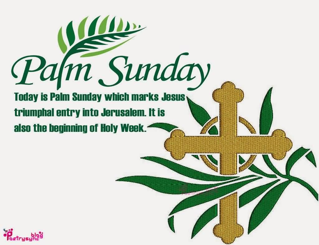 1024x786 Most Adorable Palm Sunday 2017 Wish Pictures And Images