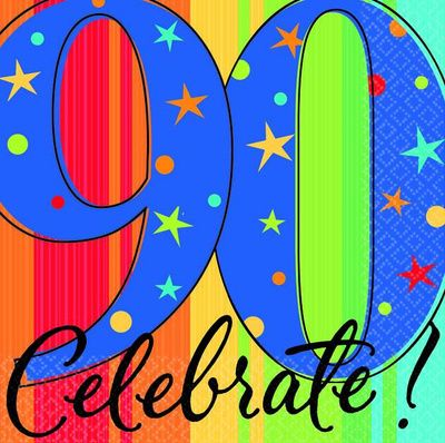 400x398 55 Best 90th Birthday Party Ideas Images 4th