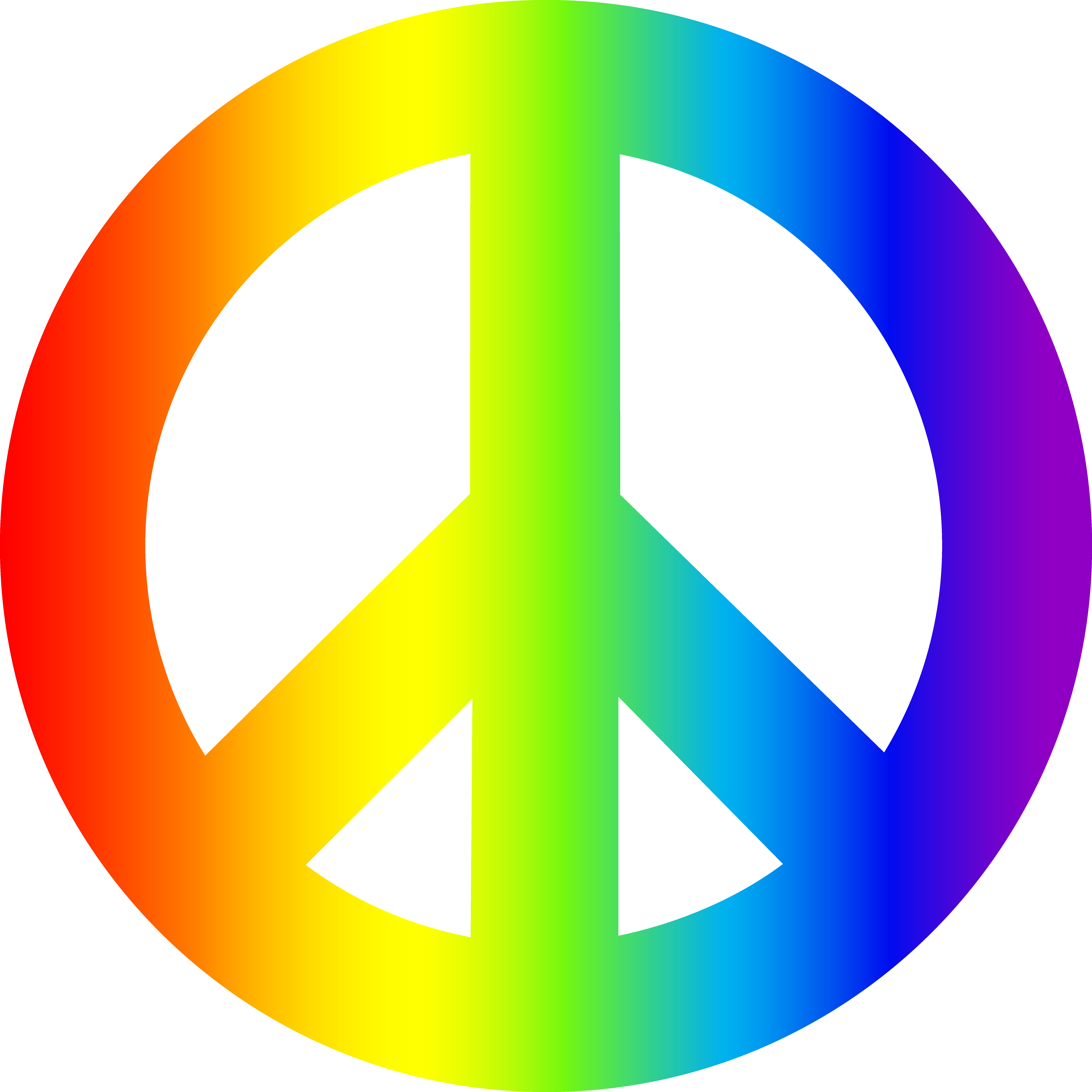 7192x7192 Peace Sign Clipart Peace Symbol