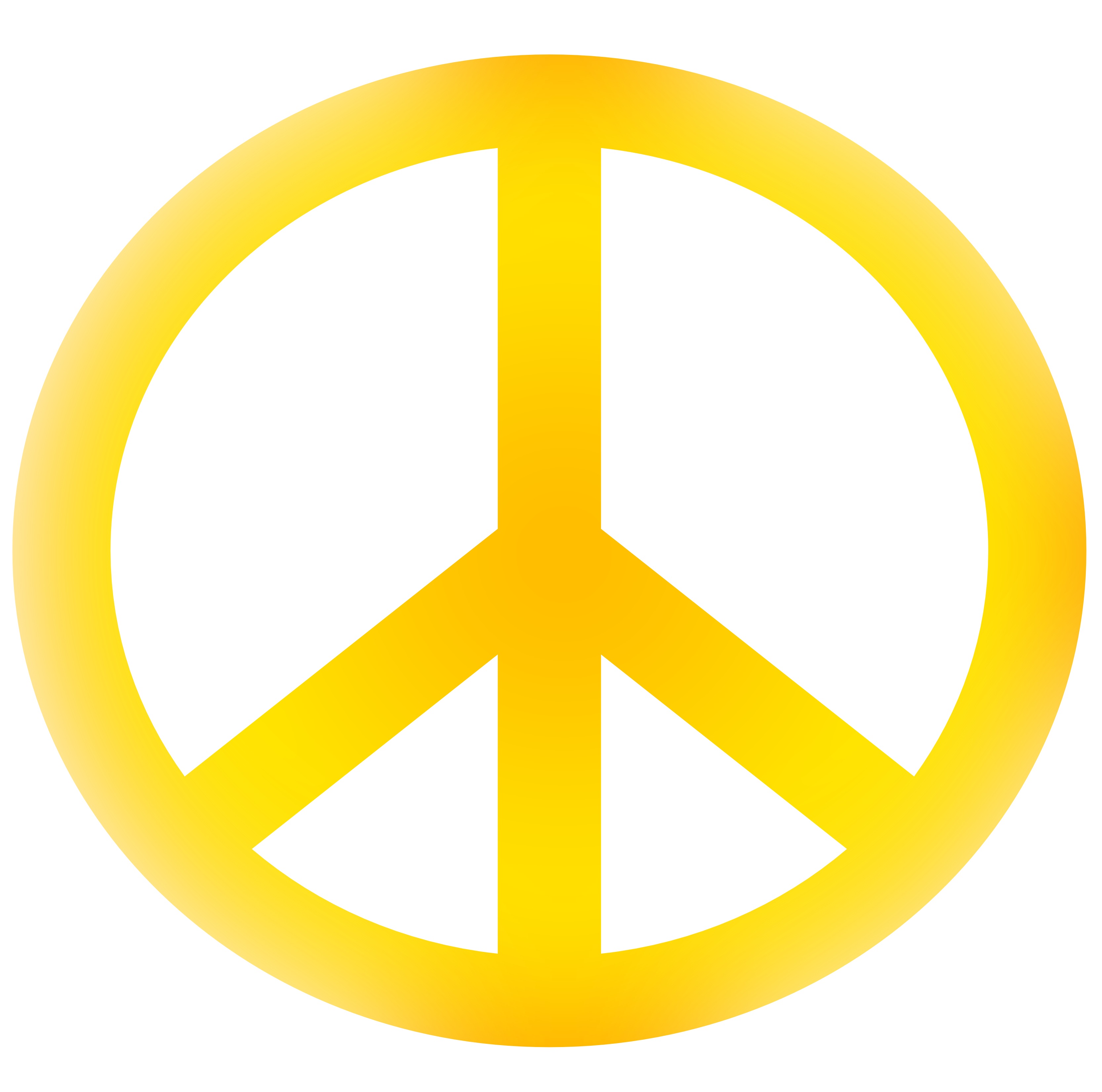 3333x3304 Peace Sign Clipart Kid 2
