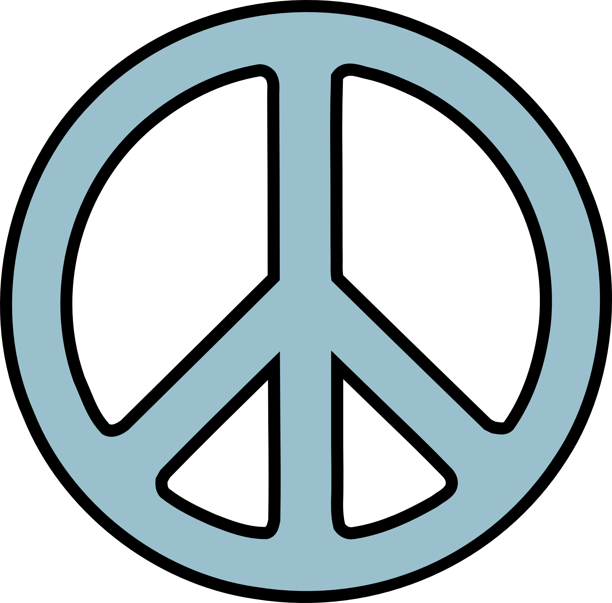1969x1939 Peace Signs Clip Art Free Clipart Images