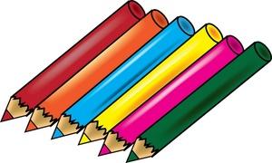 300x180 Colored Pencils Clipart