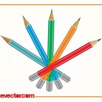 340x340 29 Colored Pencils Clipart Vectors Download Free Vector Art