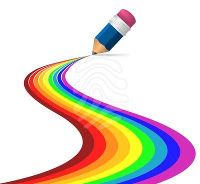 400x368 Colour Pencils Clipart