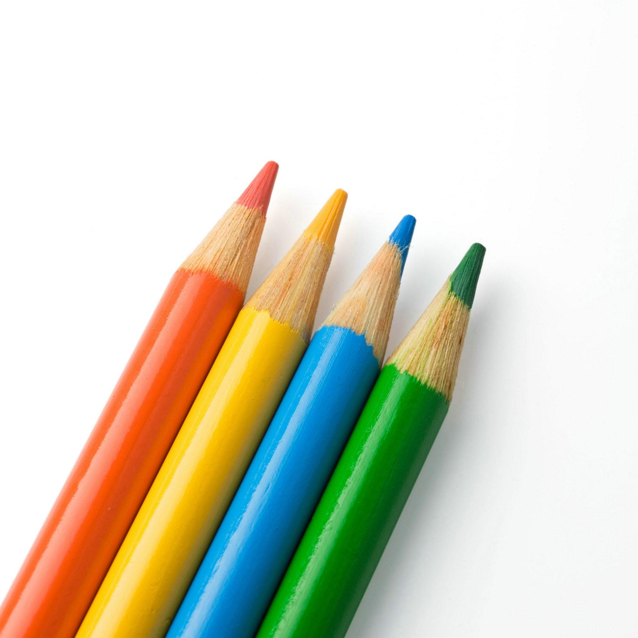 2048x2048 Pencil Clipart Rainbow
