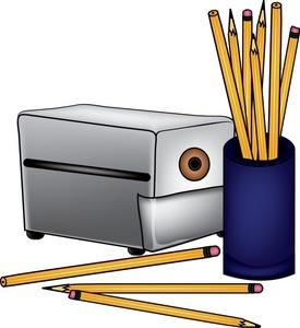 275x300 Pencils Clipart Image