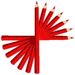 300x300 Red Pencils Clip Art Download