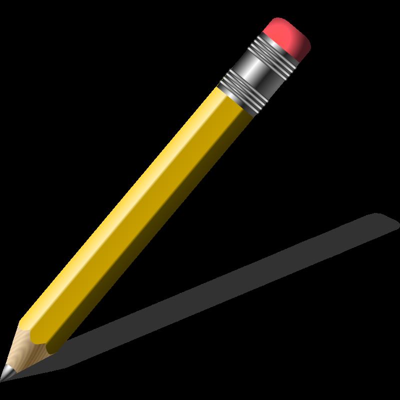 800x800 Red Clipart Colour Pencil