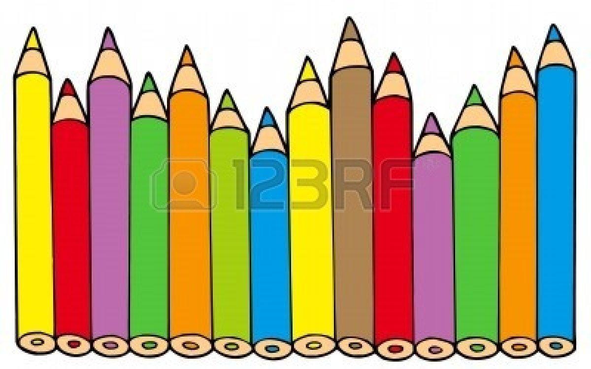 1200x750 Color Clipart Colored Pencil