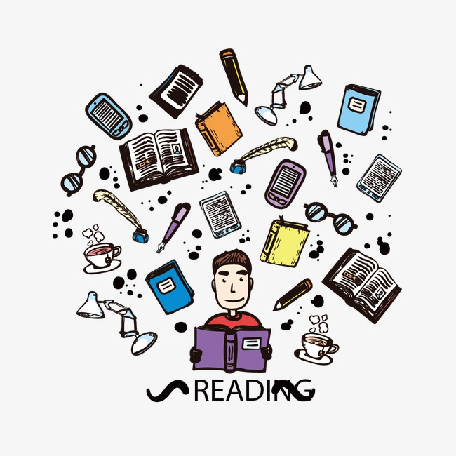 650x650 Reading Man, Read, People, Reading Png And Vector For Free Download