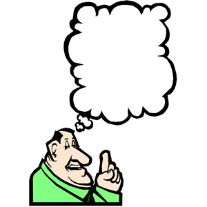 300x300 People Thinking Clipart
