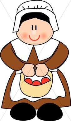 228x388 Pilgrim Clipart Cute