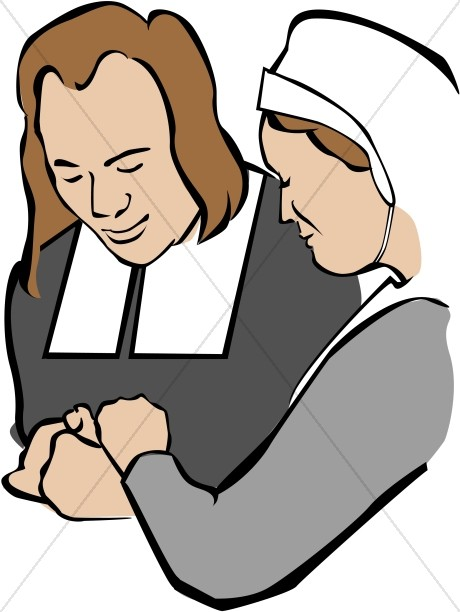 460x612 Pilgrims Praying Clipart Thanksgiving Clipart