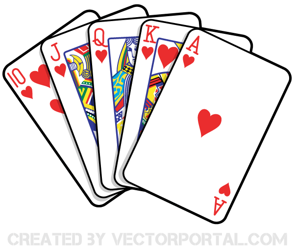 600x510 Deck Of Playing Cards Clipart