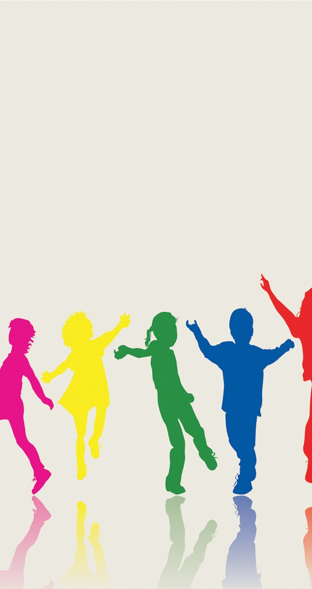 636x1200 This Background With Happy Kids Is Suitable For Psychology