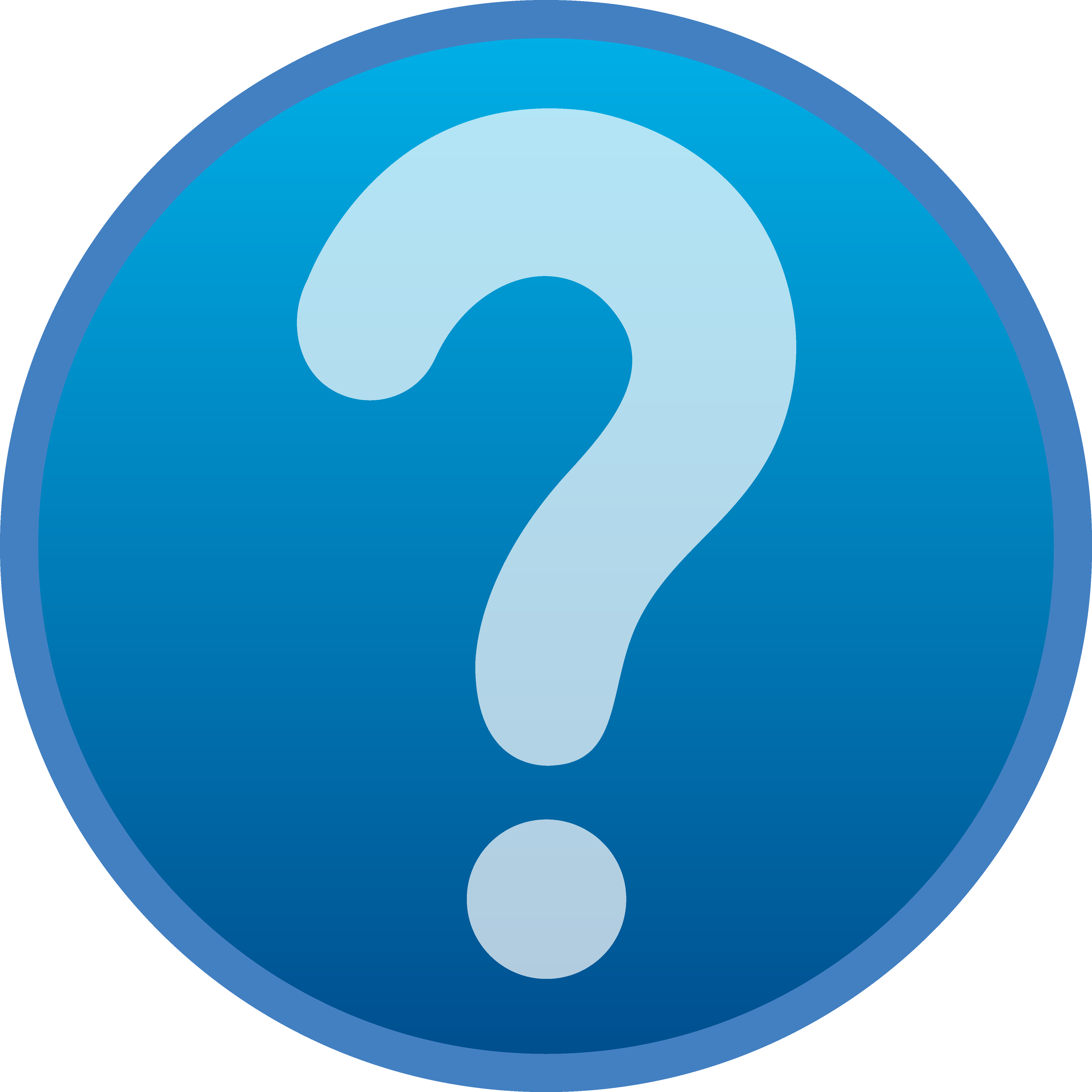 4767x4767 Image Of Question Mark Clipart Panda