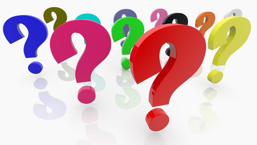 852x480 Question Mark Clipart Ratio
