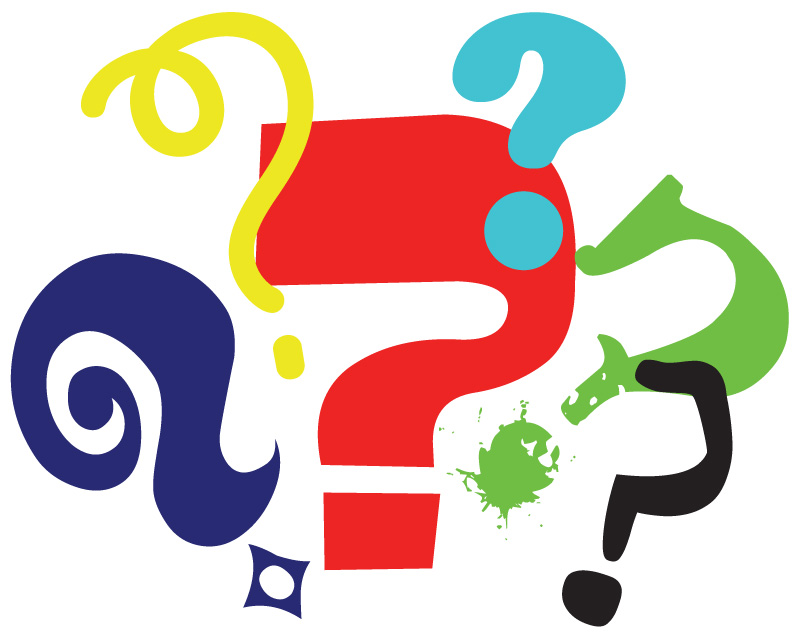 800x640 Clipart Of Question Mark