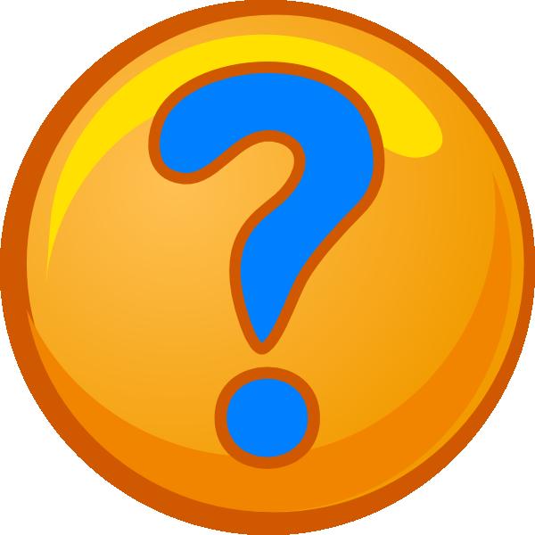 600x600 Question Mark Clip Art
