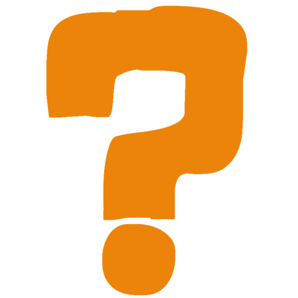 600x600 Question Mark Clipart Graphic