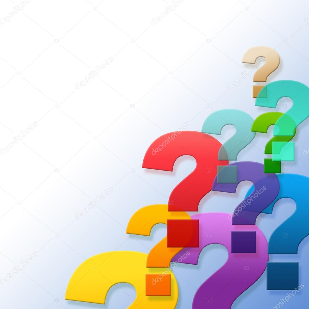 1024x1024 Question Marks Represents Frequently Asked Questions And Answer