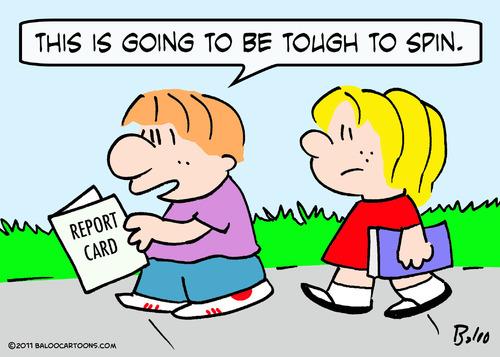 500x357 Boy Report Card Tough Spin Schoo By Rmay Education Amp Tech