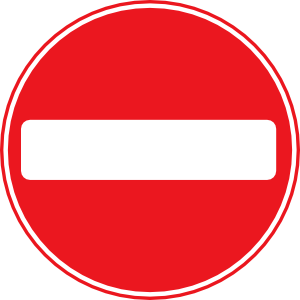 300x300 Svg Road Signs 8 Clip Art