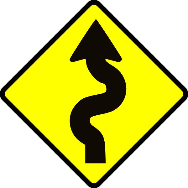 600x600 Winding Road Clip Art