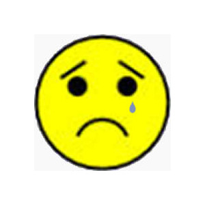 300x300 Free Sad Face Clipart