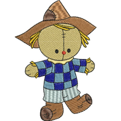 425x425 Scarecrows Embroidery Passbook Mall, Instant Download Embroidery