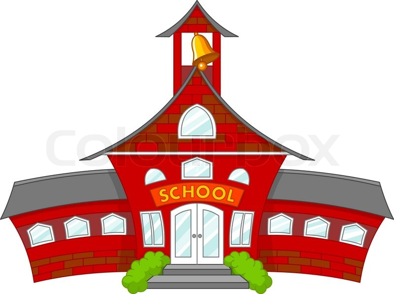 800x596 School Stock Vector Colourbox