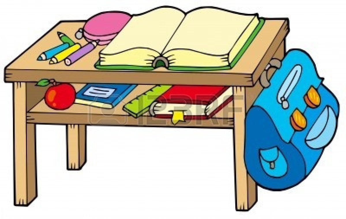 1200x759 School Desk Clipart