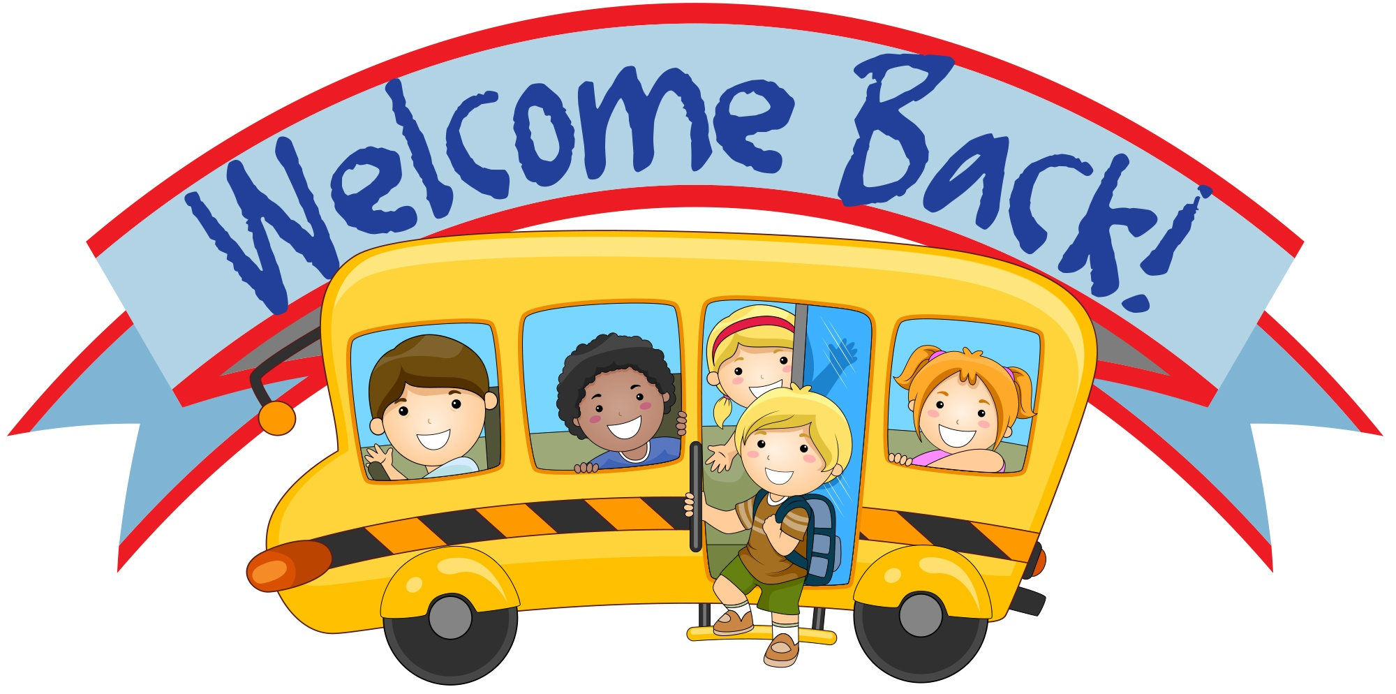 2000x994 Welcome Back To School Clip Art