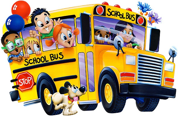 590x389 School Bus Free Clipart