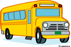 242x162 Free School Bus Clipart
