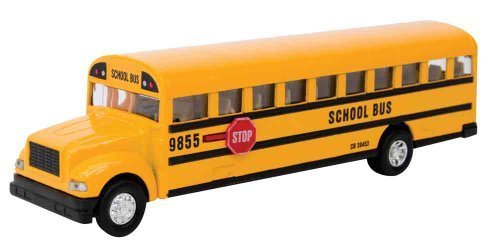 500x244 Schylling Large School Bus Die Cast Toy Toys Amp Games