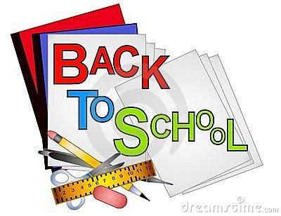 400x308 Clipart of school supplies