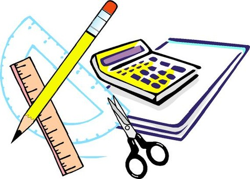 488x350 Clipart school supplies