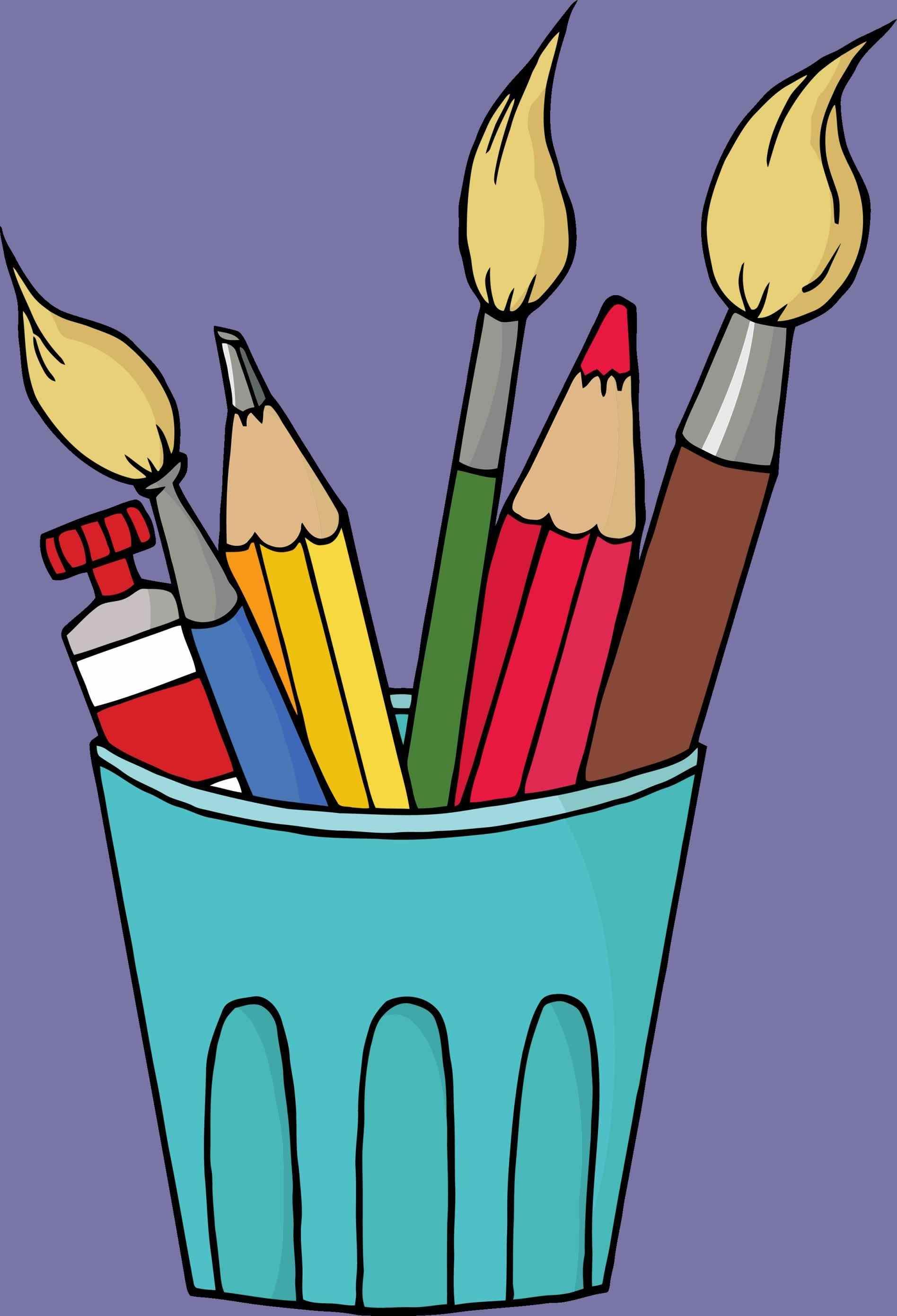 1896x2782 Kids Craft Supplies Clipart Arts S Clip Art Cbyg Wiki School