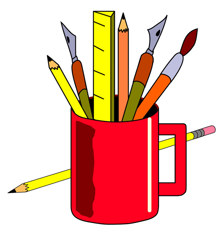 728x770 School supplies clip art cliparts and others inspiration